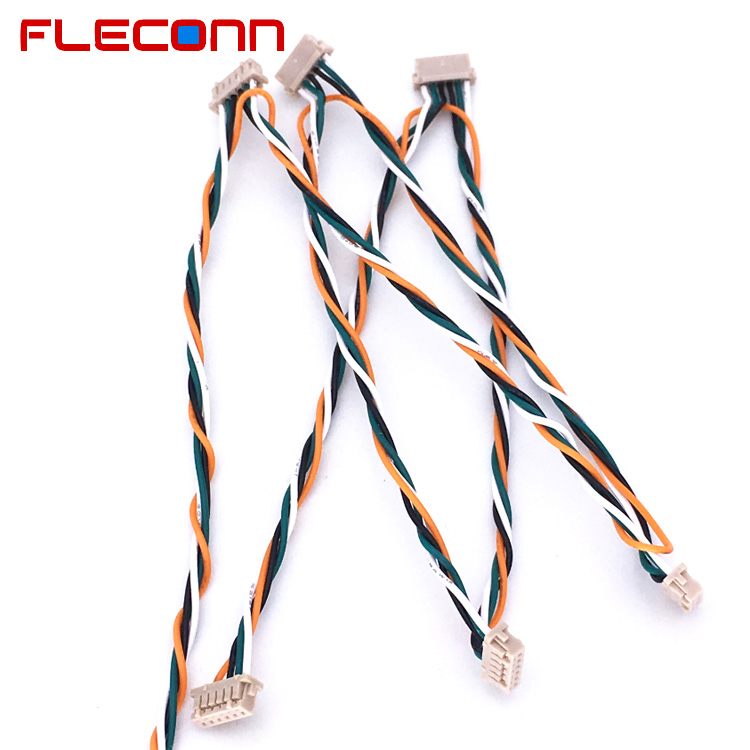 Hirose DF13-6S-1 6 Pin UL1571 28AWG Electronic wire harness.jpg
