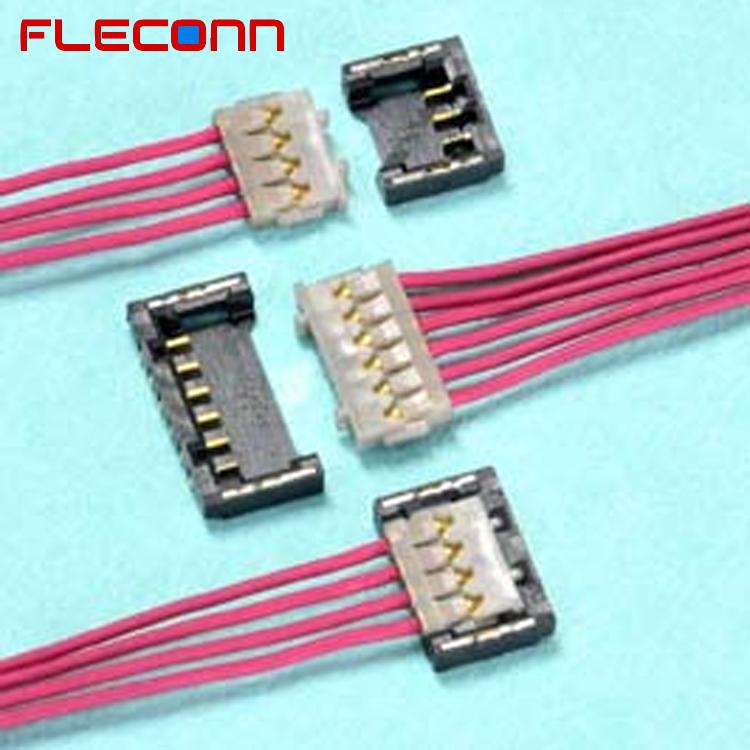 Waida Mfg Co Ltd Mail: Ptich 1.2mm 3 4 6 Pin JST ACHF ACHL Connector Wire Harness