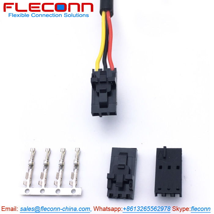 Molex 2.54mm Pitch SL 14-56-7032 3 Circuits Female Single Row Connector Wire harness.jpg