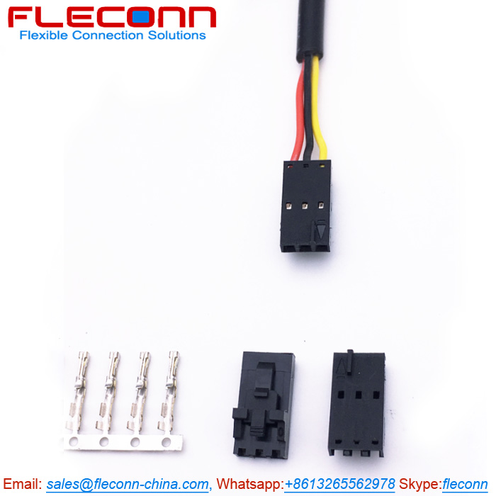 Molex 70400 Series SL 3 Pin Connector Wire Harness with Version G Housing.jpg
