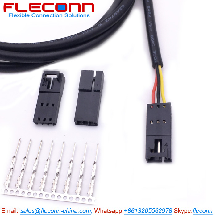 Molex 701-07-0002 SL 3 Pin Male Connector Wire Harness.jpg