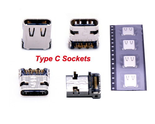 USB Type C Connector Female Board Port Manufacturer