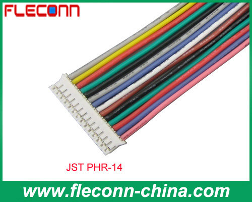 JST PHR-14 2.0mm Pitch Wire to Board Connector and Wire Assembly