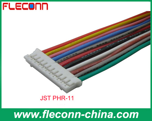 JST PHR-11 2.0mm Pitch Terminal UL1007 Electrical Wire Harness