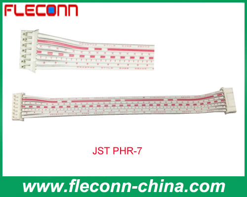 JST PHR-7 2.0mm PH 7 Pin Rainbow Cable Wire Harness Factory,