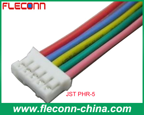 JST PHR-5 2.0mm Pitch 5 Pin Wiring Harness Cable Assembly
