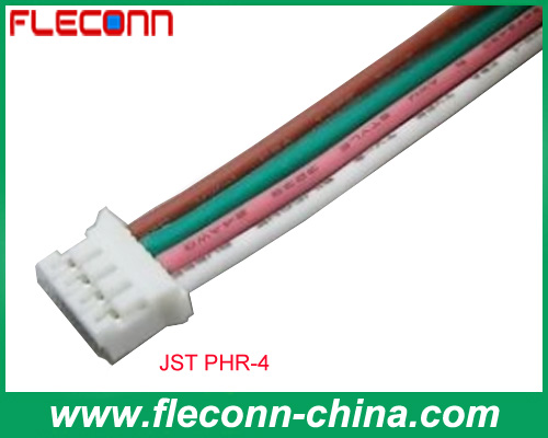 Custom JST PHR-4 PH Series Wire Harness Assembly Manufacturer