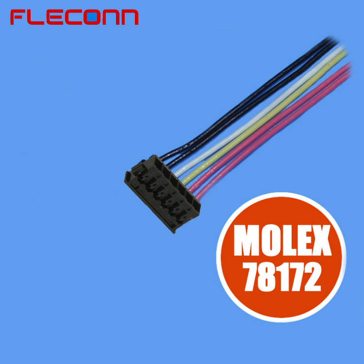 1.2mm Pitch Molex Pico-EZmate 78172 Batter Wire Harness, 2 3 4 5 6 Pin