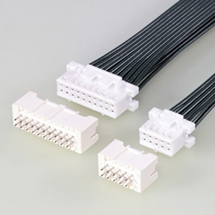 2.5mm Pitch JST XAD XADR Dual Row Wire to Board Connector Harness