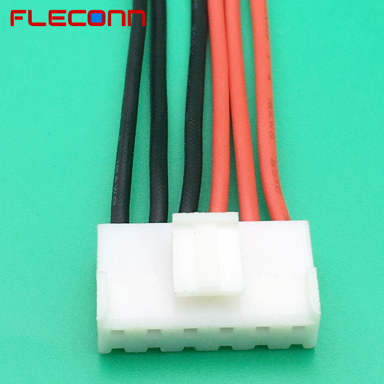 3.96mm Pitch JST VHR-6N VHR 6 Pin Connector Wiring Harness