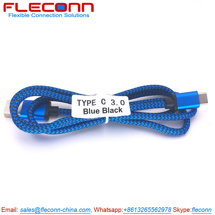 Type-C USB Cable, Blue Type C Charger Cable Supplier for Germany.jpg