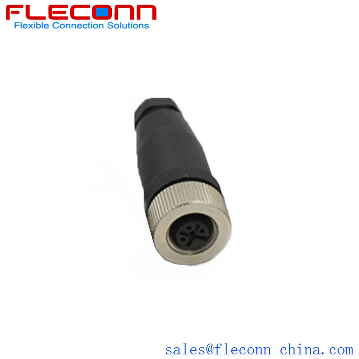 M12 Female Connector in the company of FLECONN China