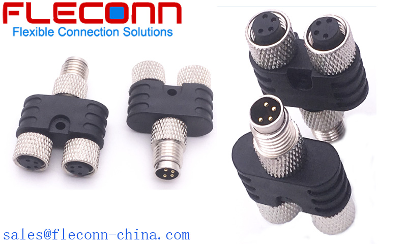 M8 Y-Splitter Connector Manufacturer and Supplier in China