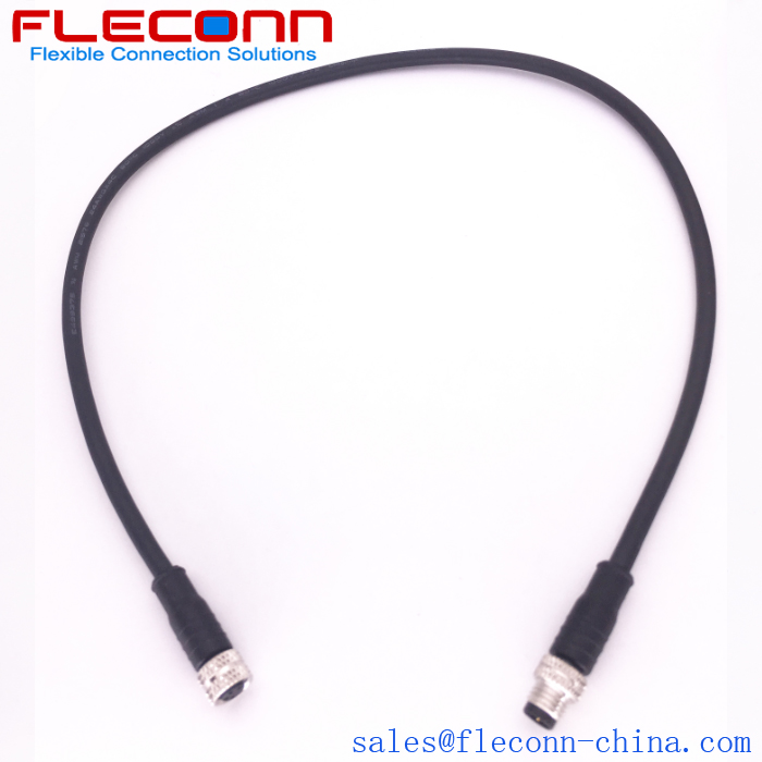 M8 4 Pin Extension Cable