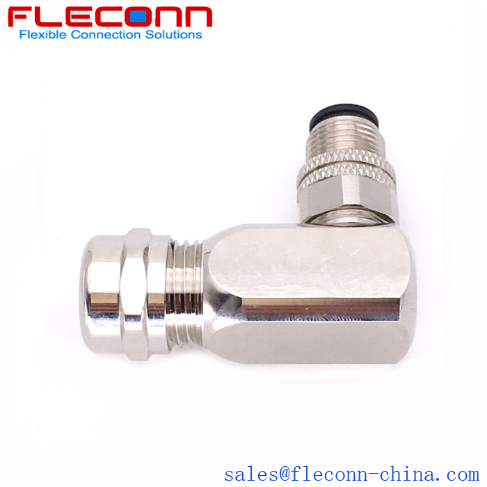 M12 8 Pole Male Connector 90 degree angle plug with PG9 cable outlet.jpg