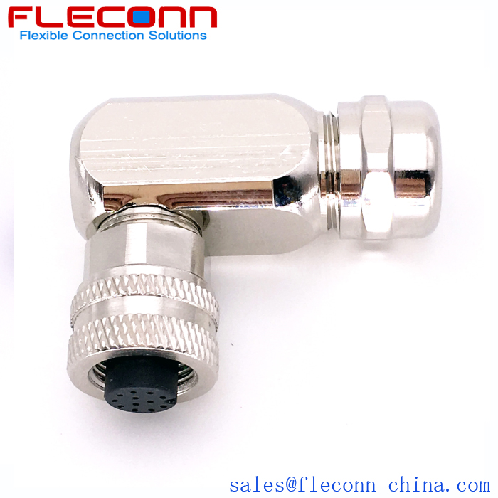 M12 12 Pin Female Connector