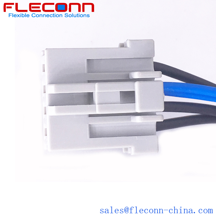 FLECONN can custom motorcycle wiring harness with sumitomo 4 pin connector 6098-0243 for Motorcycle Manufacturers.