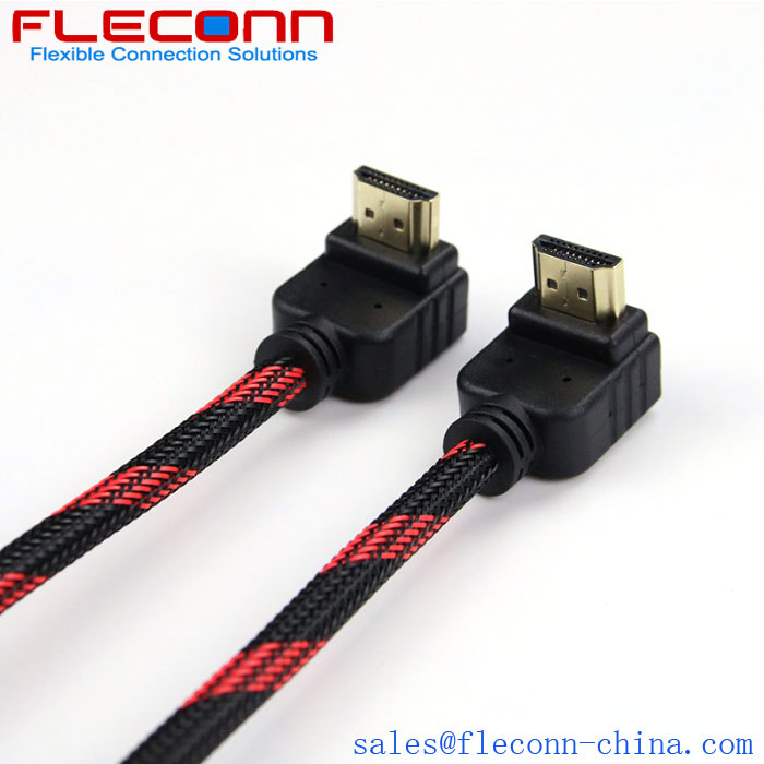 Fleconn can provide version 2.0 plus nylon network HDMI cable, TV, laptop, computer HD data transmission cable.